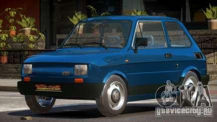 1989 Fiat 126P для GTA 4