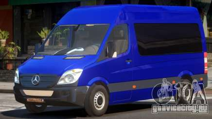 Mercedes Benz Sprinter MR для GTA 4