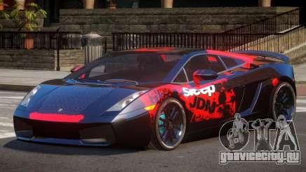 Lamborghini Gallardo FSI PJ4 для GTA 4