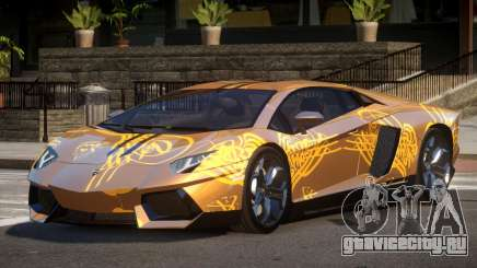 Lamborghini Aventador LP700-4 GS PJ1 для GTA 4