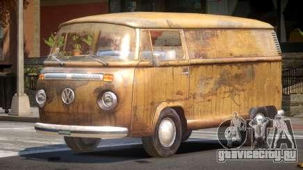 Volkswagen Transporter T2 Rusty для GTA 4