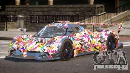 Pagani Zonda SR PJ3 для GTA 4