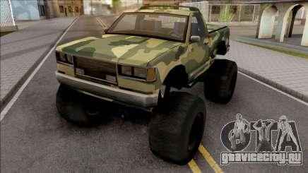 Monster B Camo Edition для GTA San Andreas
