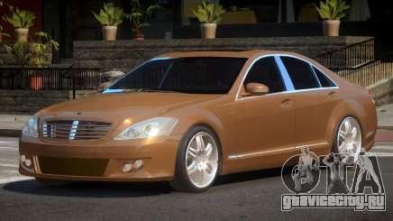 Mercedes Benz W221 B-Style для GTA 4
