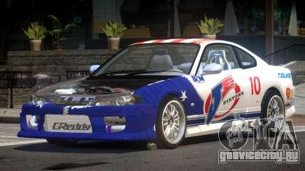 Nissan Silvia S15 M-Sport PJ5 для GTA 4