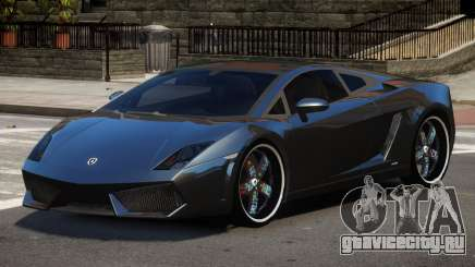 Lamborghini Gallardo LP560 MR для GTA 4