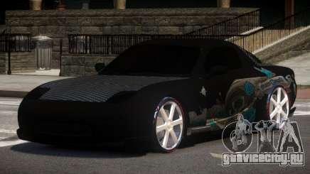 Mazda RX7 D-Tuned для GTA 4