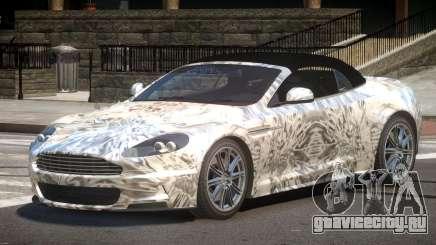 Aston Martin DBS Volante SR PJ2 для GTA 4