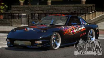 Mazda RX7 PSR PJ3 для GTA 4