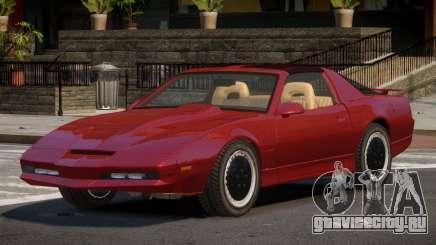 1985 Pontiac Trans Am KITT для GTA 4