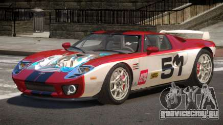 Ford GT R-Tuning PJ6 для GTA 4