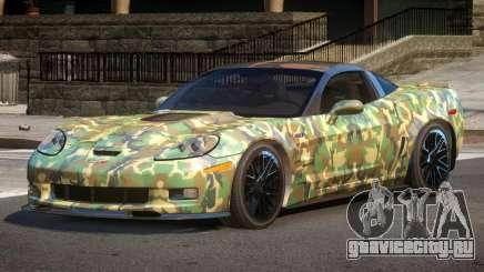 Chevrolet Corvette R-Tuned PJ1 для GTA 4