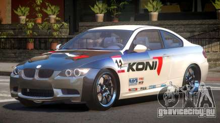 BMW M3 E92 R-Tuned PJ6 для GTA 4