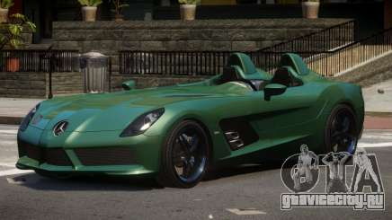 Mercedes Benz SLR TRG48 для GTA 4