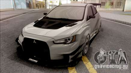 Mitsubishi Lancer Evolution X 2008 Varis для GTA San Andreas