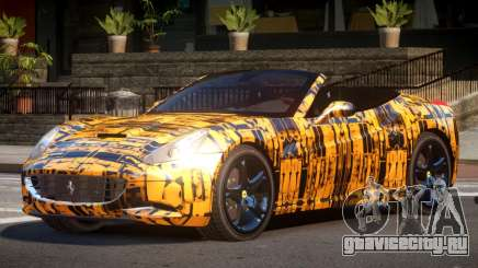 Ferrari California SR PJ5 для GTA 4
