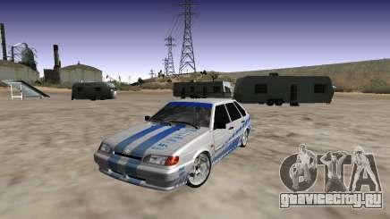 VAZ 2114 (Skyline R34 Paint Job) для GTA San Andreas