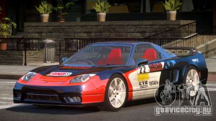 Honda NSX Racing Edition PJ1 для GTA 4