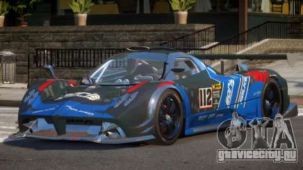 Pagani Zonda SR PJ4 для GTA 4