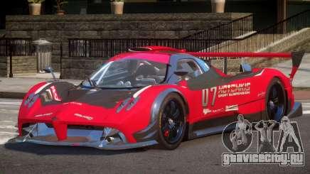 Pagani Zonda SR PJ5 для GTA 4