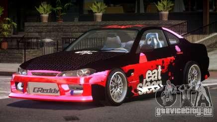 Nissan Silvia S15 M-Sport PJ3 для GTA 4