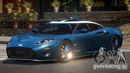 Spyker C8 M-Sport для GTA 4