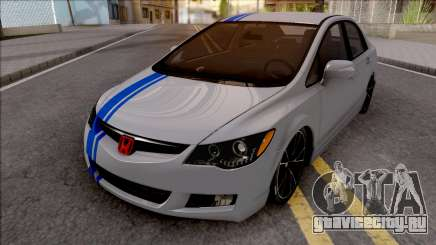 Honda Civic FD6 Grey для GTA San Andreas