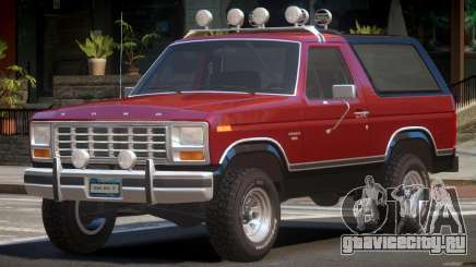 Ford Bronco V1.0 для GTA 4