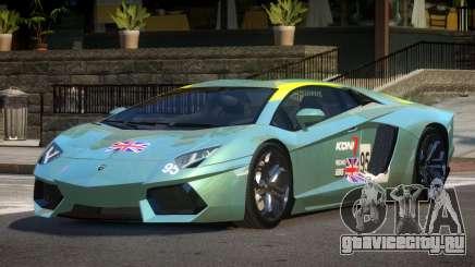 Lamborghini Aventador LP700-4 GS PJ4 для GTA 4