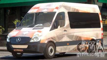Mercedes Benz Sprinter MR PJ1 для GTA 4
