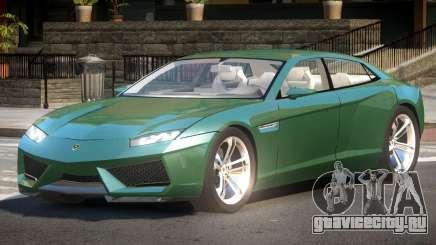 Lamborghini Estoque ST для GTA 4