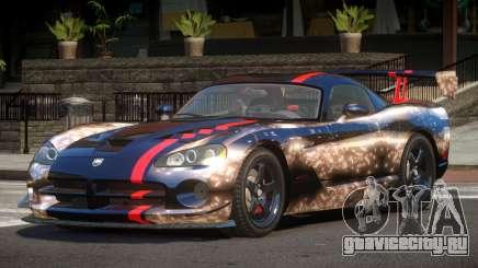 Dodge Viper SRT M-Sport PJ6 для GTA 4