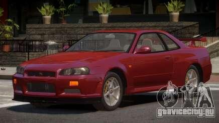 Nissan Skyline R34 STI для GTA 4