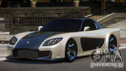 Mazda RX-7 G-Style для GTA 4