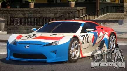 Lexus LFA R-Style PJ4 для GTA 4