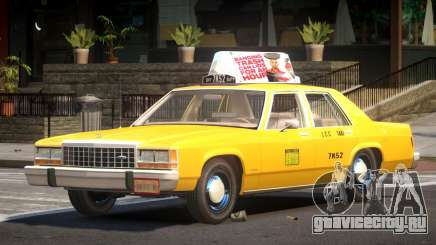 Ford LTD Crown Victoria Taxi V1.0 для GTA 4
