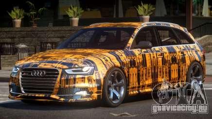 Audi RS4 GST PJ5 для GTA 4