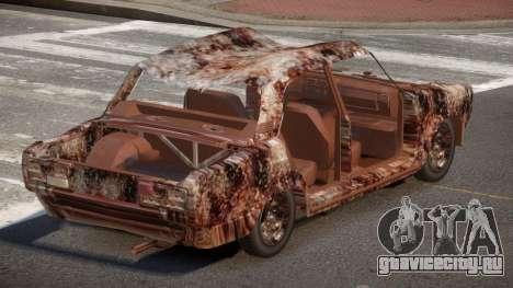 VAZ 2107 Rusty для GTA 4