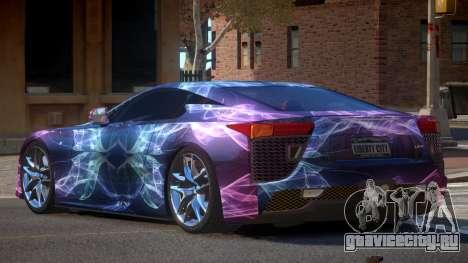 Lexus LFA R-Tuned PJ2 для GTA 4