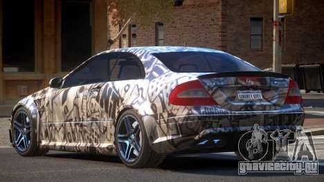 Mercedes Benz CLK63 SR PJ1 для GTA 4
