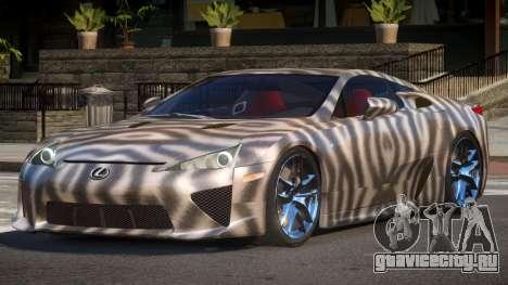 Lexus LFA R-Tuned PJ4 для GTA 4