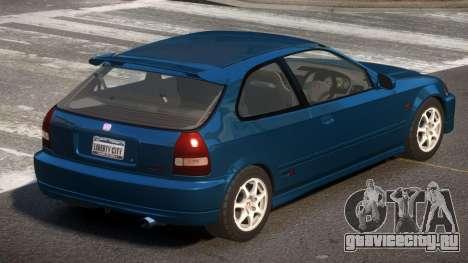 Honda Civic GST для GTA 4