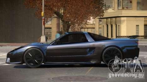 Acura NSX SR для GTA 4