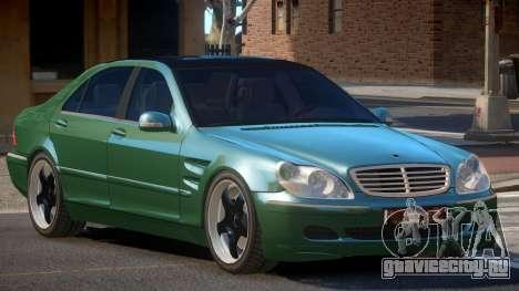 Mercedes Benz S550 V1.1 для GTA 4