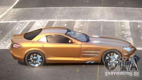 Mercedes Benz SLR C199 для GTA 4