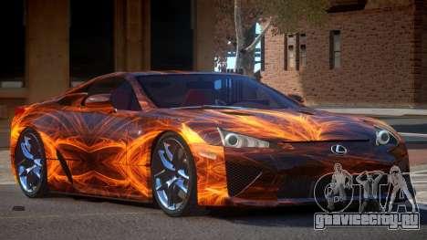 Lexus LFA R-Tuned PJ1 для GTA 4