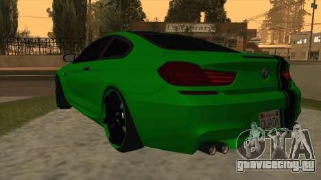BMW M6 SE для GTA San Andreas