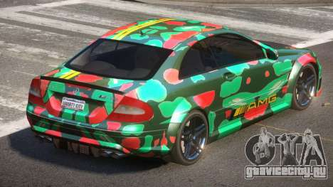 Mercedes Benz CLK63 SR PJ5 для GTA 4