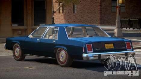 1991 Ford LTD Crown Victoria для GTA 4