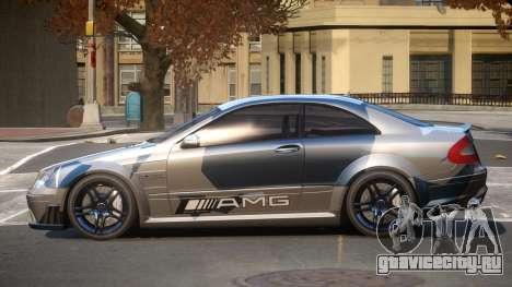 Mercedes Benz CLK63 SR PJ2 для GTA 4